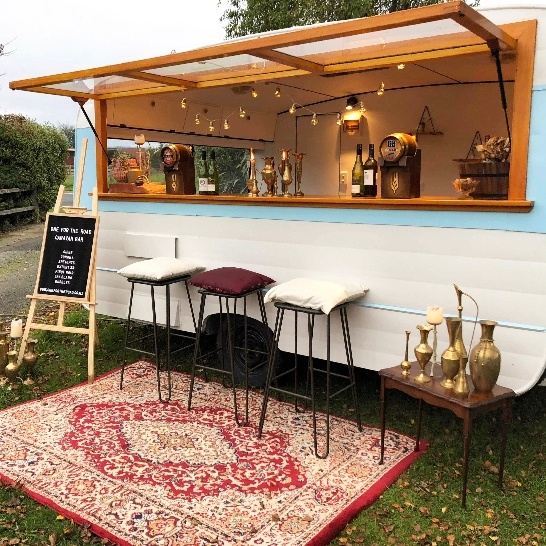 One For The Road caravan bar southland vintage look