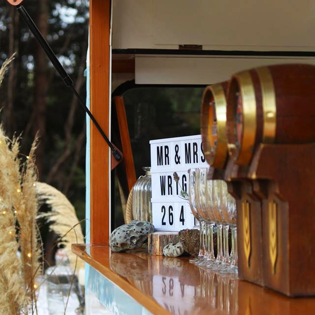 One For The Road caravan bar southland farm benchtop